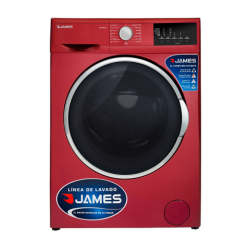 Lavarropas JAMES LR 1008 ROJO